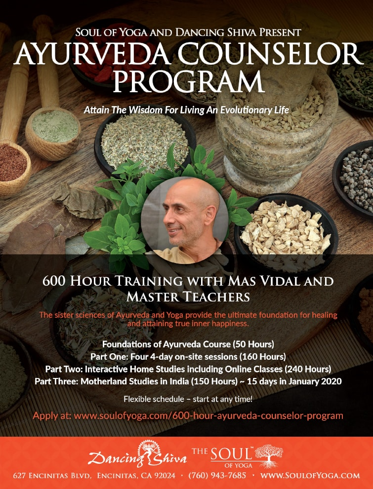 Ayurveda Counselor Certification Program